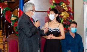 La Universidad Autónoma Juan Misael Saracho entregó un reconocimiento a la presidenta del TED Tarija, Nataly Vargas