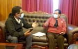 Oruro: Tribunal Electoral y Alcaldía coordinan acciones para dar cumplimiento al DS 4451