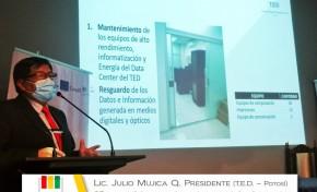El TED Potosí presenta su Rendición de Cuentas 2020 y su Plan de Trabajo 2021