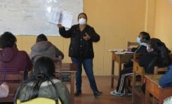 El TED Oruro concluye la capacitación a postulantes a notarios electorales