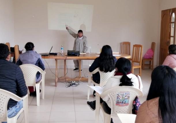 El TED Chuquisaca desarrolla curso de notarios de manera virtual y presencial