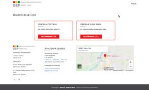 El Serecí Santa Cruz implementa una plataforma virtual para atender trámites