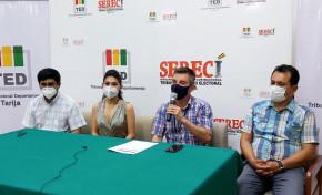 El TED y Serecí Tarija instan a las personas inhabilitadas a presentar el formulario de rehabilitación