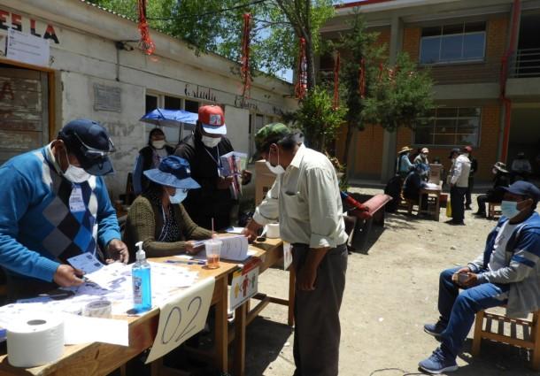 El TED Oruro rehabilita a 129 votantes para la elección del 7 de marzo