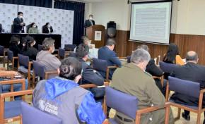 El TED Cochabamba presenta informe de labores y rendición pública de cuentas de la gestión 2020