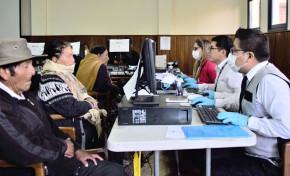 Serecí y TED Cochabamba atienden reclamos de las personas inhabilitadas en el Padrón Electoral
