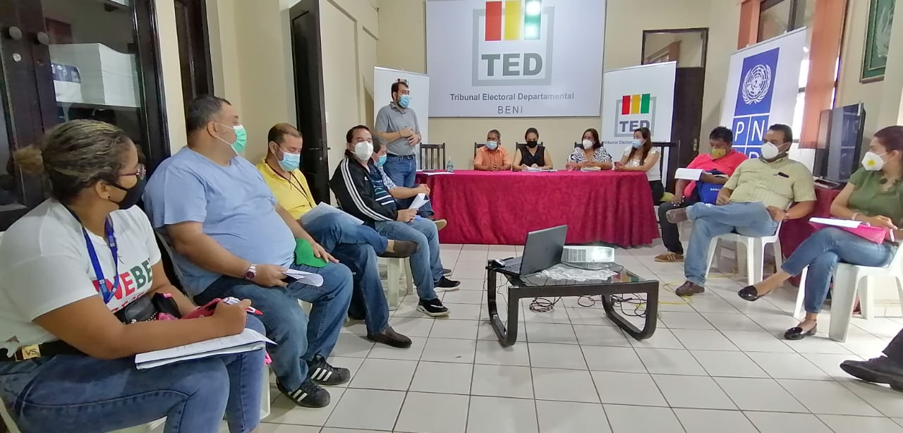 TED Beni - siclos de debate