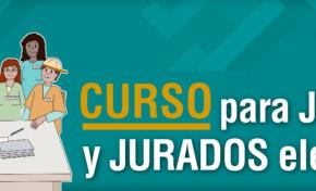 El TSE lanza curso virtual de reforzamiento a la capacitación para juradas y jurados electorales