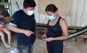 Notarios del área rural de Pando aprenden a usar el Sistema de monitoreo electoral