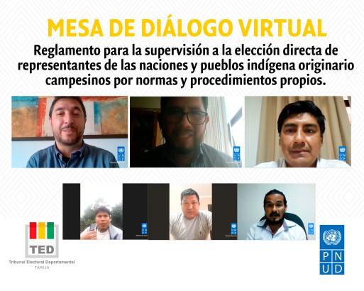 mesa_dialogo_indigenas_Tarija_subnacionales_11-02-2021