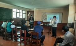 """Periodistas de Tupiza y Villazón participan en el taller """"Periodismo en procesos electorales"""""""