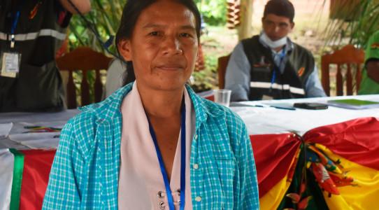 El pueblo Tacana elige a Yasira Cartagena como representante indígena suplente en la Asamblea Departamental de La Paz