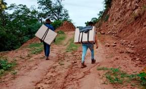 El TED de Chuquisaca concluye la entrega de 1.904 maletas electorales y bosas de recinto