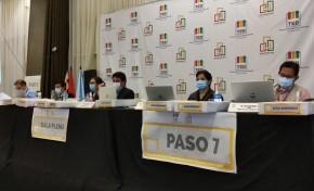 El TED Cochabamba finaliza el cómputo de actas de los municipios de Bolívar y Villa Gualberto Villarroel