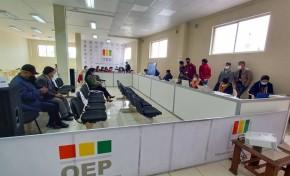 El TED Potosí concluye el cómputo del 100 por ciento de actas de la Elección 2021