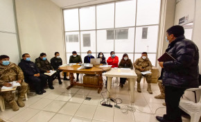 El TED Potosí y las fuerzas del orden coordinan la aplicación de la cadena de custodia del material electoral