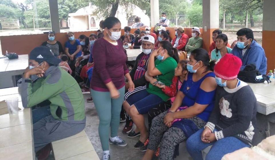 La elección se realizó en la comunidad Samu Guate, provincia Gran Chaco de Tarija.