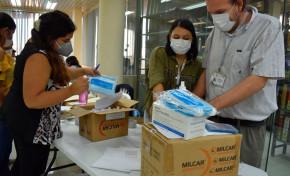 El TED Santa Cruz entrega materiales de bioseguridad a mil guías electorales
