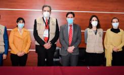 El TSE recibe a la Misión de Observación Electoral de la  OEA