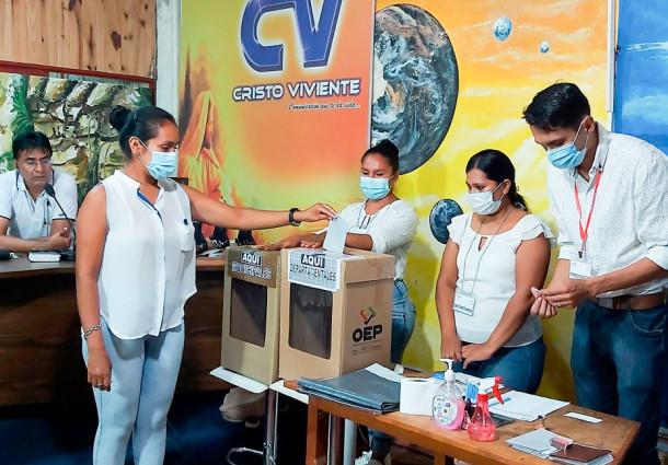 El TED Tarija informa cómo votar el 7 de marzo en simulacros transmitidos por medios de comunicación