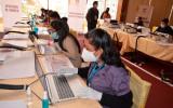El TED La Paz describe en un simulacro los pasos del cómputo electoral