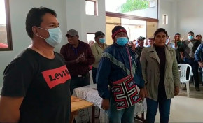 El pueblo indígena Weenhayek de Tarija eligió a sus representantes por normas y procedimientos propios