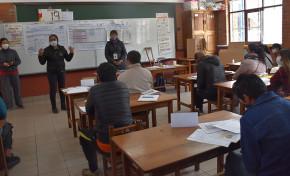 Desde el 25 de marzo, capacitan a jurados electorales en 1.184 recintos del departamento de La Paz