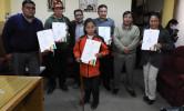 Dos concejales suplentes del MTS asumirán como titulares en el Concejo Municipal de Huanuni