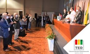 El TED Santa Cruz supervisó la elección de Consejeros de Administración y de Vigilancia de la Cooperativa Rural de Electrificación (CRE)