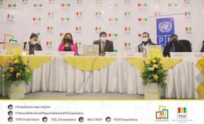 El 27 de abril entregan credenciales a las autoridades electas de Chuquisaca