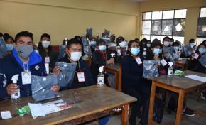 El TED La Paz capacita a 1.000 guías electorales que coadyuvarán en la jornada de votación