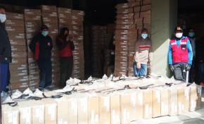 El Tribunal Electoral Departamental de La Paz inicia la distribución de 9.358 maletas electorales