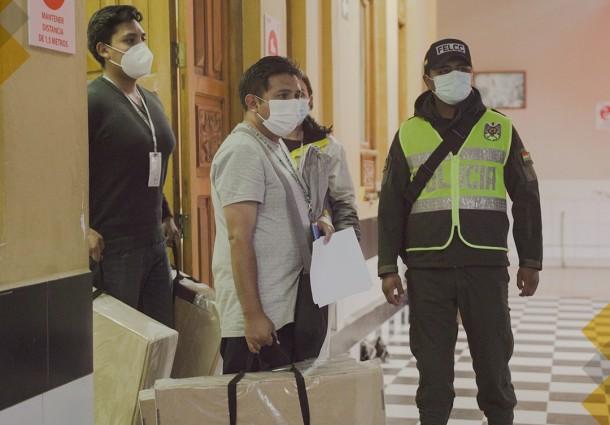 El TED Chuquisaca concluye la distribución de 1.904 maletas electorales
