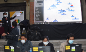 El TED La Paz inicia la distribución de 5.656 maletas electorales en el área urbana