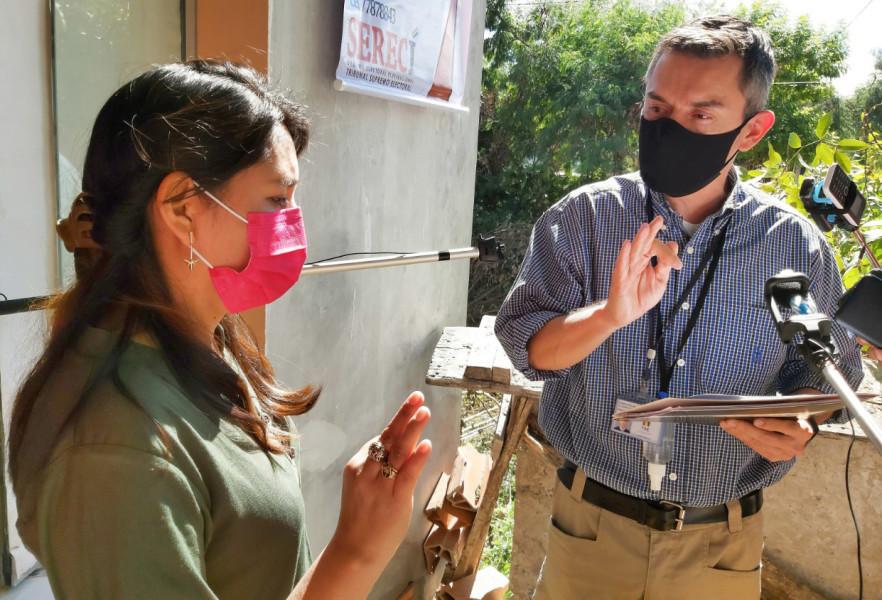 El Serecí Tarija posesiona a la oficial de Registro Civil de Caraparí