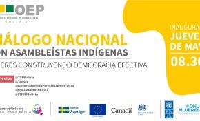 Asambleístas indígenas se capacitan en gestión legislativa y  evalúan el rol político de las mujeres en diálogo con el OEP
