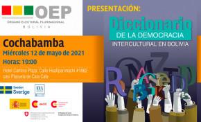 """El TSE presentará este miércoles el """"Diccionario de la Democracia Intercultural en Bolivia"""""""