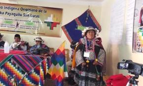 El 16 de mayo eligen al representante indígena en el Concejo Municipal de San Lucas mediante normas y procedimientos propios