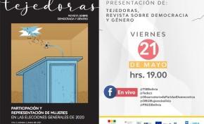 """El TSE presenta segundo número de la revista """"Tejedoras"""", que analiza la participación de mujeres en las Elecciones de 2020"""