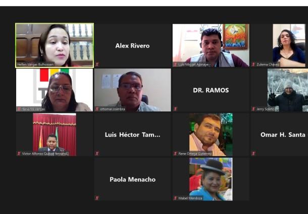 El TED Beni lleva adelante un taller de fortalecimiento público en año no electoral con organizaciones políticas y NPIOC