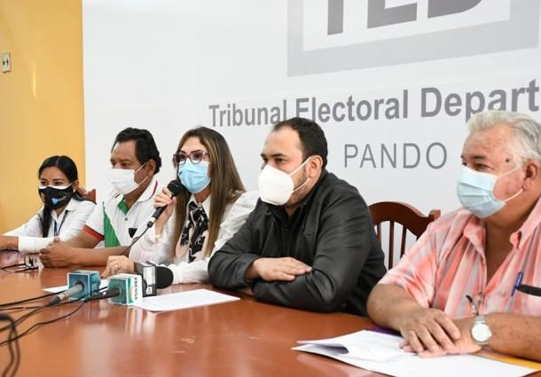 Serecí Pando activa campaña de saneamiento y emisión de certificados de nacimiento gratuitos