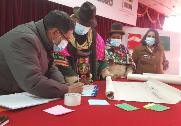 El TSE inicia un ciclo de talleres informativos dirigido a organizaciones indígenas que participaron en las elecciones subnacionales
