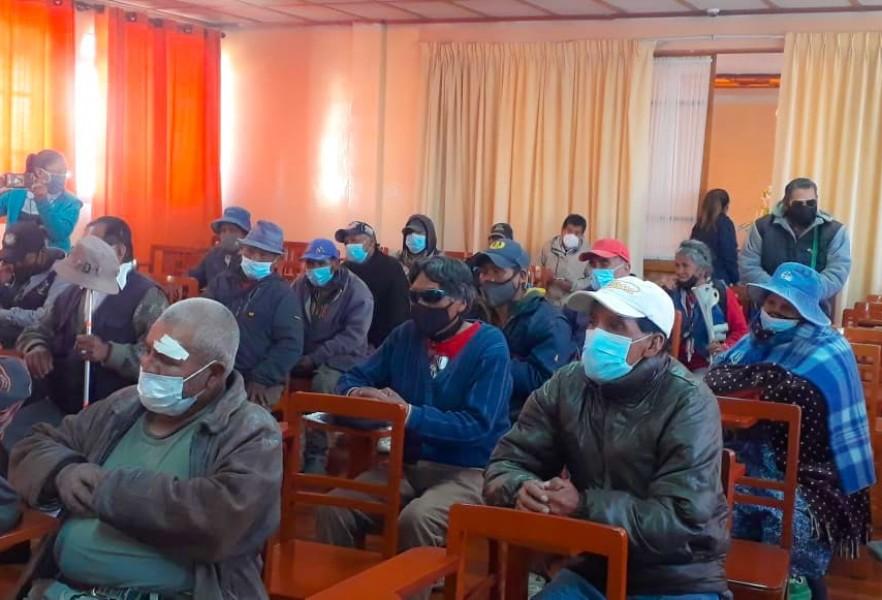 Campaña Oruro: Serecí sanea documentos y entrega 124 certificados de nacimiento gratuitos a población vulnerable