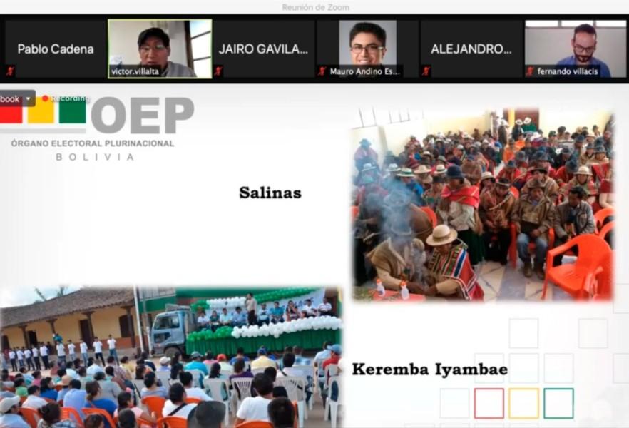 El Sifde expone los principios de la democracia comunitaria en un foro organizado por el IDD de Ecuador