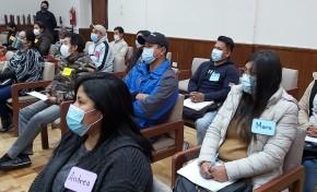 El TED Tarija inicia la evaluación y capacitación permanente a notarios electorales