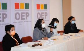 Diálogo nacional: el OEP promueve una agenda para garantizar la participación política de las mujeres