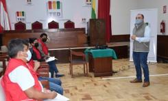 El TED Tarija socializa con la Fedjuve el Protocolo de Supervisión a elecciones de la sociedad civil