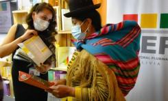 El OEP expone toda su producción intelectual, académica y literaria en la Feria Internacional del Libro