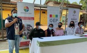 OEP otorga 317 certificados de nacimiento gratuitos en favor de internos del penal San Martín de Porres de Villa Busch