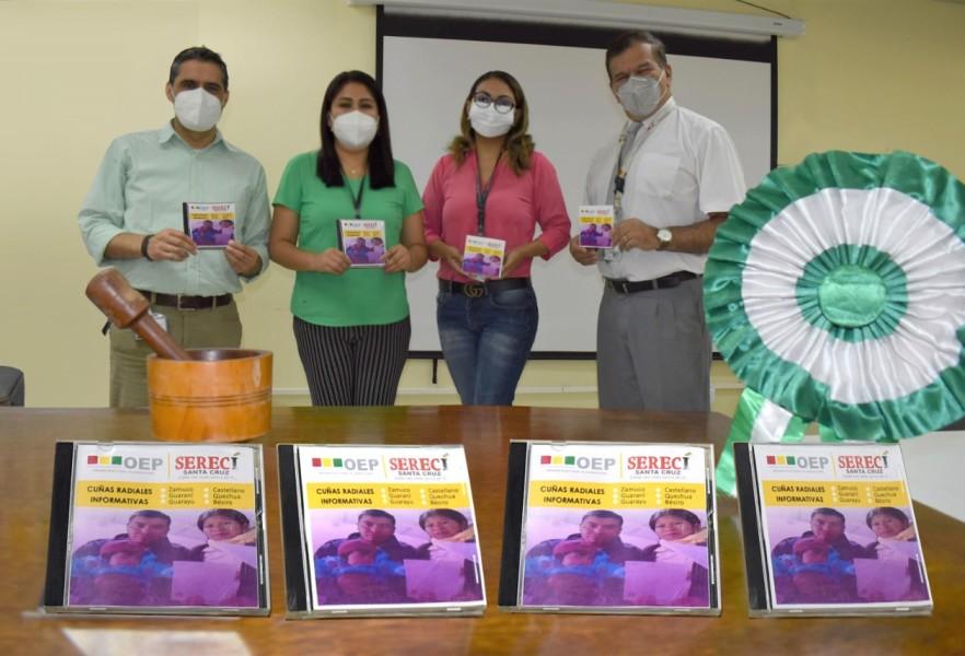 Serecí Santa Cruz inicia la difusión de material informativo en idiomas indígenas
